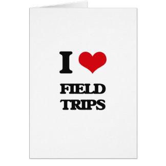 I love Field Trips Greeting Card