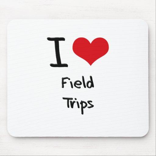 I Love Field Trips Mousepads