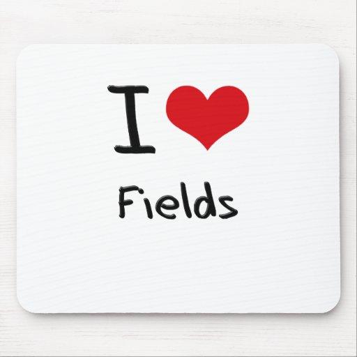 I Love Fields Mousepads