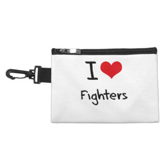 I Love Fighters Accessory Bags
