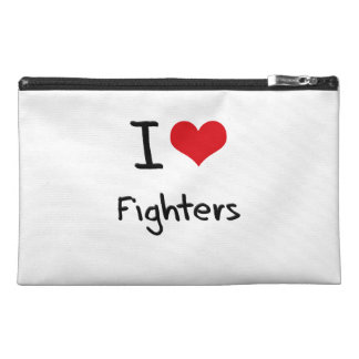 I Love Fighters Travel Accessories Bag