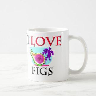 I Love Figs Coffee Mug