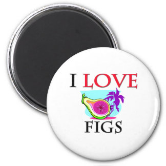 I Love Figs Magnet