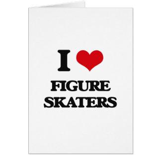 I love Figure Skaters Card