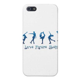 I love figure skating- blue iPhone SE/5/5s case