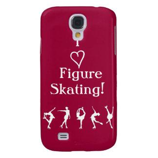 I Love Figure Skating - Cranberry Phone Case
