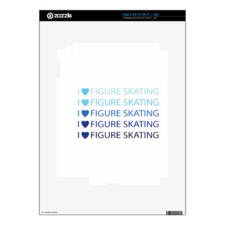 I love figure skating decal for the iPad 2