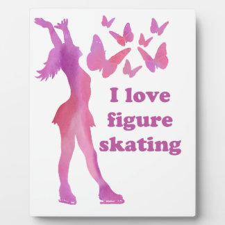 I Love Figure Skating Giftware Plaque