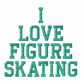 I LOVE FIGURE SKATING JACKET - Kiss My Ice - green