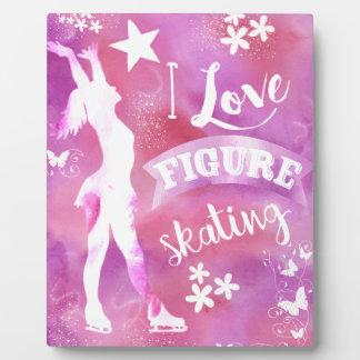 I Love Figure Skating.jpg Plaque