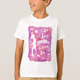 I LOVE FIGURE SKATING T-Shirt