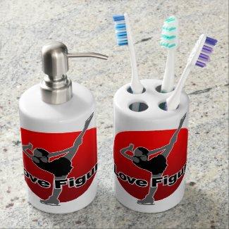 I Love Figure Soap Dispensers