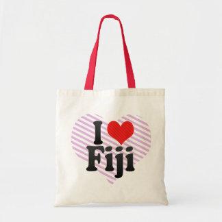 I Love Fiji Budget Tote Bag