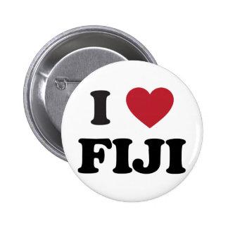 I Love Fiji Button