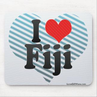 I Love Fiji Mouse Pad