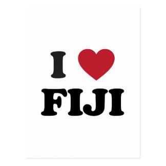 I Love Fiji Post Cards