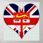 I Love Fiji Posters