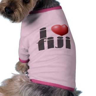 I Love Fiji Products Pet Clothing