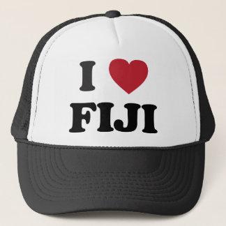 I Love Fiji Trucker Hat
