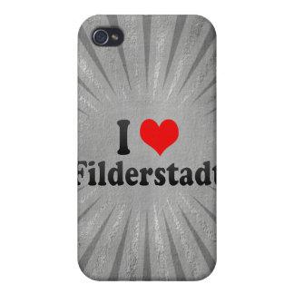 I Love Filderstadt, Germany Cases For iPhone 4