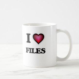 I love Files Coffee Mug