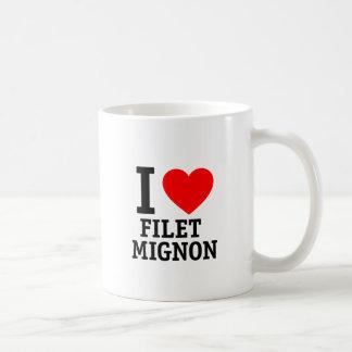 I Love Filet Mignon Coffee Mug