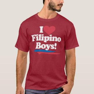 I Love Filipino Boys - White T-Shirt