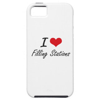 I love Filling Stations iPhone 5 Covers