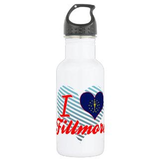 I Love Fillmore, Indiana 18oz Water Bottle