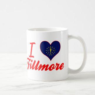 I Love Fillmore, Indiana Classic White Coffee Mug