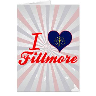 I Love Fillmore, Indiana Greeting Card