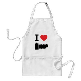 I love film adult apron