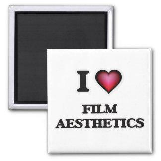 I Love Film Aesthetics Magnet