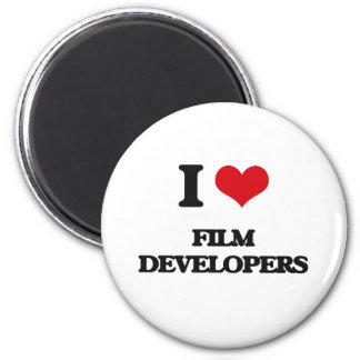 I love Film Developers Magnets
