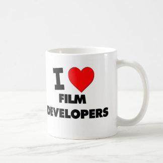 I Love Film Developers Mugs