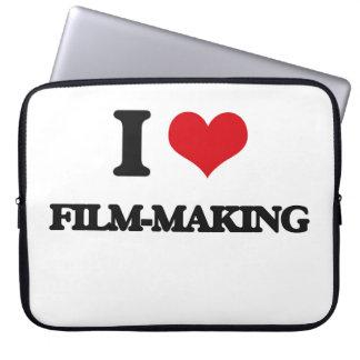 I Love Film-Making Computer Sleeve
