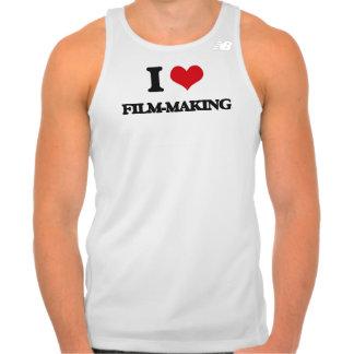 I Love Film-Making Tshirt
