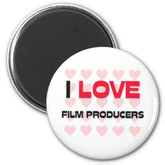 I LOVE FILM PRODUCERS MAGNETS