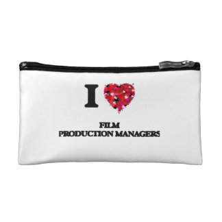 I love Film Production Managers Cosmetic Bags