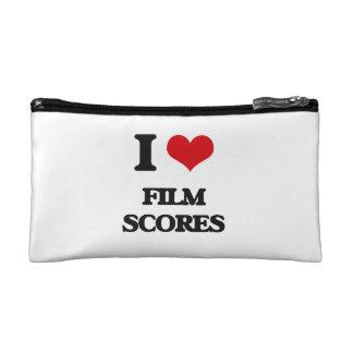 I Love FILM SCORES Makeup Bag