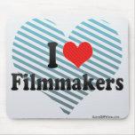 I Love Filmmakers Mousepad