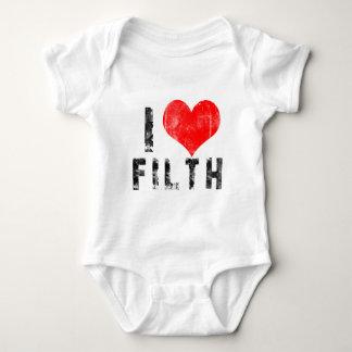 I Love Filth Baby Bodysuit