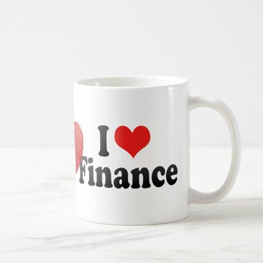I Love Finance Coffee Mug
