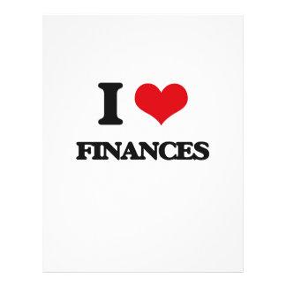 i LOVE fINANCES Full Color Flyer