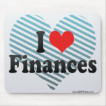 I Love Finances Mouse Pad