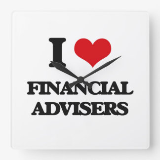 I love Financial Advisers Clock
