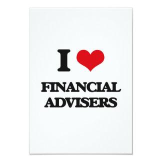 I love Financial Advisers Custom Announcement