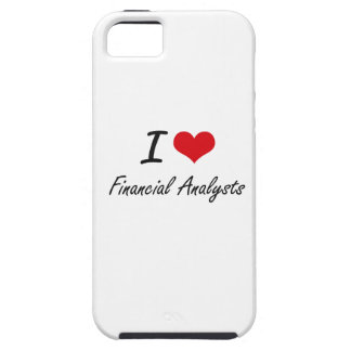 I love Financial Analysts iPhone 5 Cases