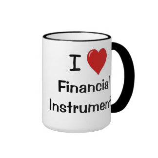 I Love Financial Instruments Rude Investment Terms Ringer Coffee Mug