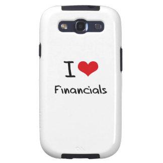 I Love Financials Galaxy S3 Covers